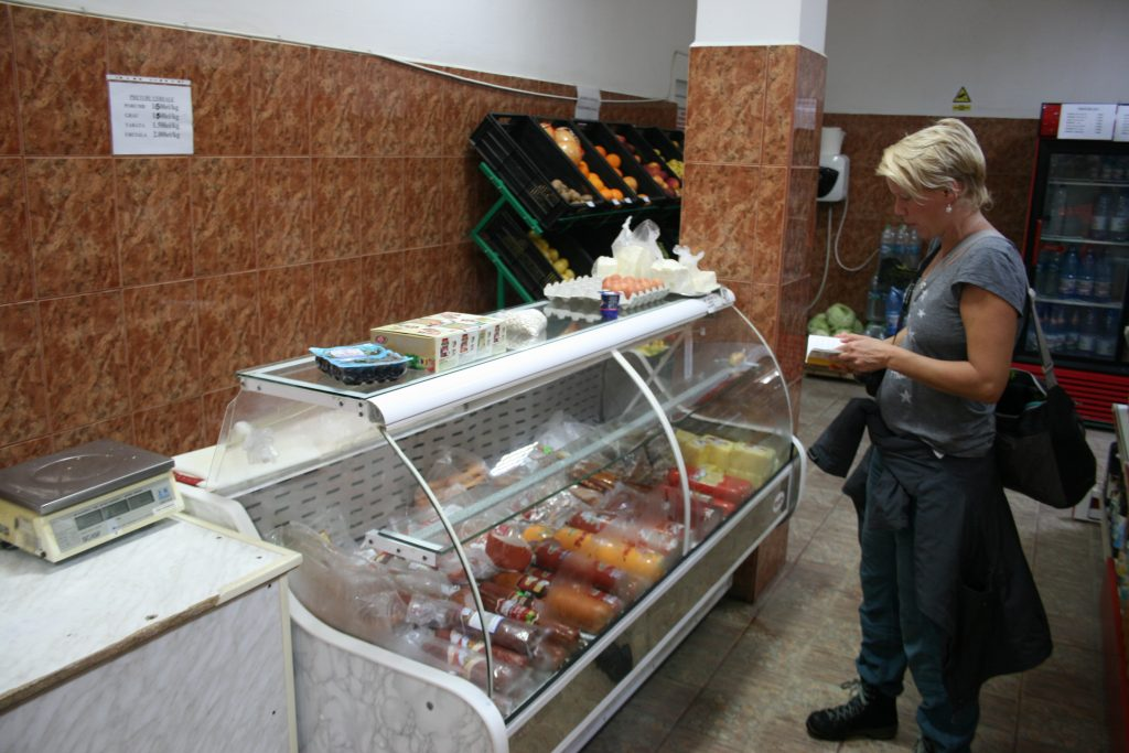 Donaudelta Rumänien einkaufen mit Sprachführer
