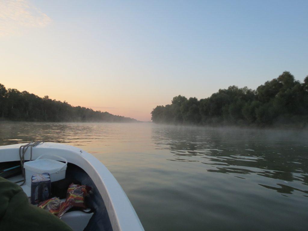 Murighiol angeln im Donaudelta
