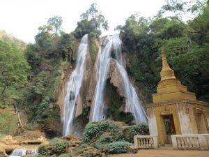 Wasserfall bei Hsipaw in Myanmar by Birgit Strauch Shiatsu Massageun und Bewusstseinscoaching