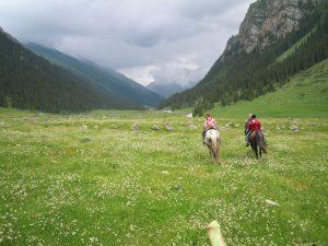 Kirgistan Verbundenheit mit Allem was ist Birgit Strauch Shiatsu ThetaHealing