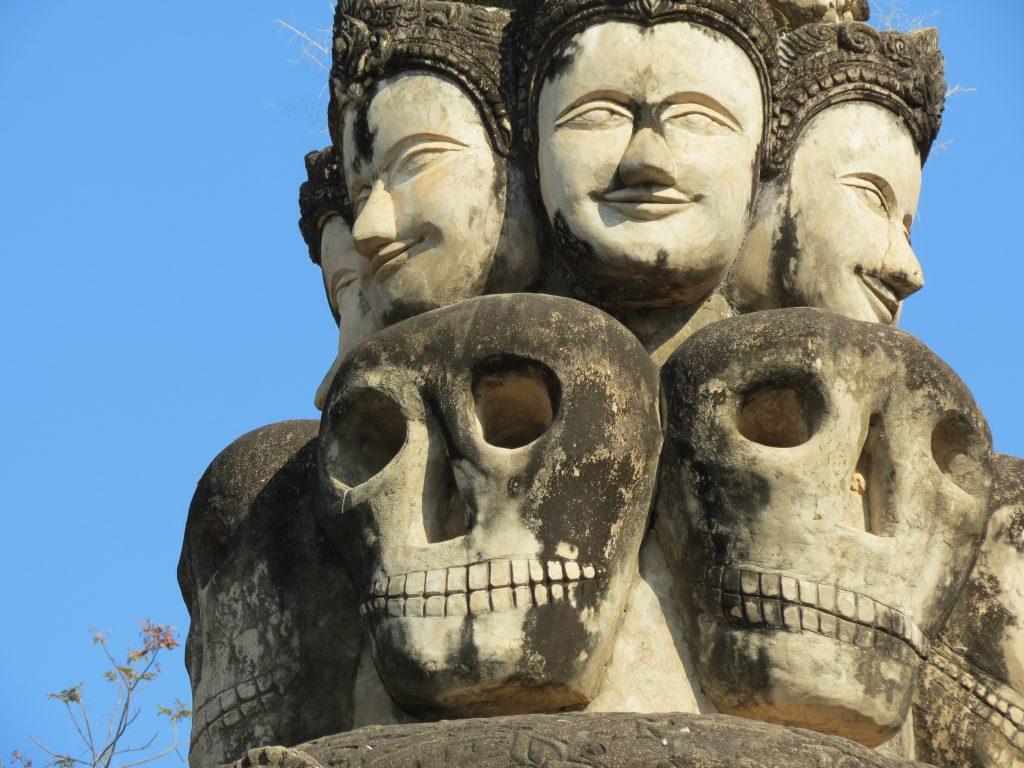 Sala Kaew Ku Skulpturenpark Nong Khai Thailand Birgit Strauch Bewusstseinscoaching