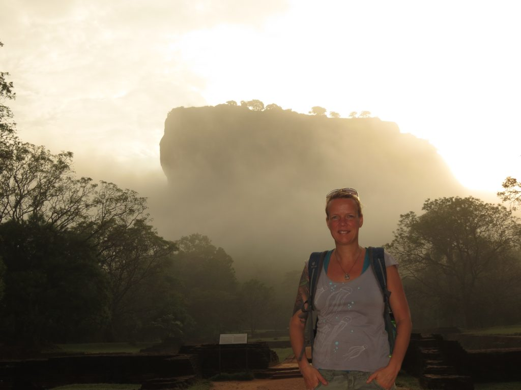 Sigiriya Fels Sri Lanka by Birgit Strauch Shiatsu & ThetaHealing