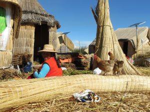 Zeina Ricky Übernachtung Uros Titicaca by Birgit Strauch Shiatsu & Bewusstseinscoaching