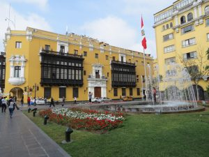 Plaza Mayor Lima Peru by Birgit Strauch Shiatsu & ThetaHealing