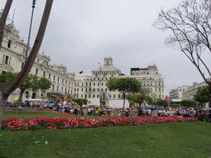 Plaza San Martin Lima Peru by Birgit Strauch Shiatsu & Bewusstseinscoaching