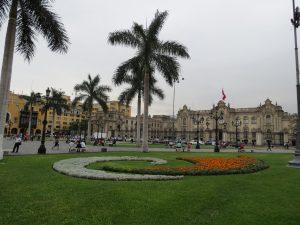 In der Nähe von Plaza Mayor in Lima