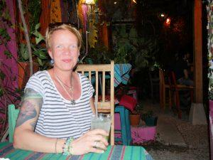 San Telmo Bar Restaurant Kaffee Lago Peten Itza Flores Guatemala by Birgit Strauch Shiatsu & Bewusstseinscoaching