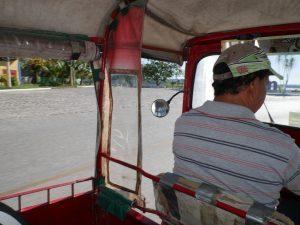 Tuktuk Lago Peten Itza Flores Guatemala by Birgit Strauch Shiatsu & Bewusstseinscoaching