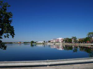 Lago Peten Itza Flores Guatemala by Birgit Strauch Shiatsu & Bewusstseinscoaching