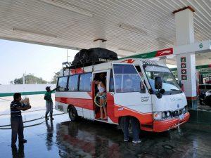 Bus Fahrt Chisec Guatemala by Birgit Strauch Shiatsu