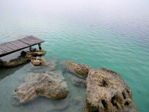 Fische Morgenstimmung Laguna Lachua Guatemala by Birgit Strauch Shiatsu & Bewusstseinscoaching