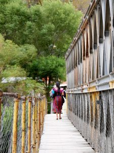 Fluss Brücke Sacapulas Guatemala by Birgit Strauch Shiatsu & Bewusstseinscoaching