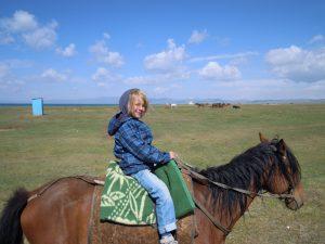 Pferde reiten Song Kul Tien Shan by Birgit Strauch Shiatsu & Bewusstseinscoaching