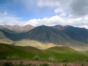 Fahrt zum Song Kul Tien Shan by Birgit Strauch Shiatsu & Bewusstseinscoaching