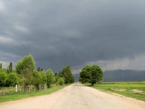 Gewitter in Kochkor by Birgit Strauch Shiatsu & Bewusstseinscoaching