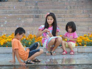 Mit Kindern in Bishkek by Birgit Strauch Shiatsu & Bewusstseinscoaching