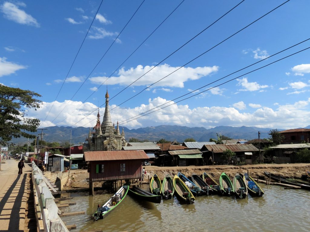Nyaung Shwe Inle Lake Myanmar by Birgit Strauch Shiatsu & Bewusstseinscoaching