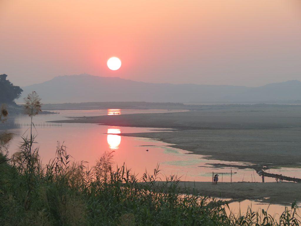 Irravaddy Nyaung U Myanmar by Birgit Strauch Shiatsu & Bewusstseinscoaching