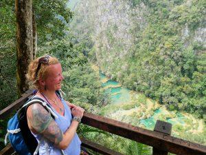 Aussichtspunkt Semuc Champey Guatemala by Birgit Strauch Bewusstseinscoaching & Shiatsu