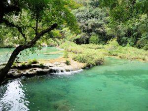 Pools Semuc Champey Guatemala by Birgit Strauch Bewusstseinscoaching & Shiatsu