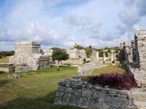Tulum Ruinen Waran Mexiko by Birgit Strauch Bewusstseinsscoaching und Shiatsu