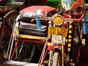 Fahrradrikscha Yangon by Birgit Strauch Bewusstseinscoaching & Shiatsu