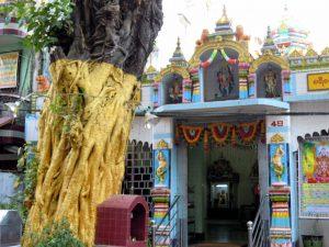 Hindu Tempel am Guest Care Hotel Yangon by Birgit Strauch Bewusstseinscoaching & Shiatsu