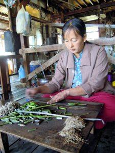 Inle Lake Lotusfäden Myanmar by Birgit Strauch Shiatsu & Bewusstseinscoaching