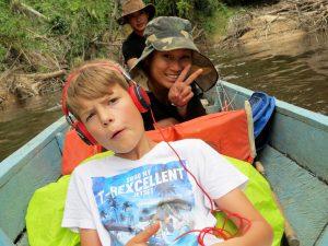 Bootsfahrt nach Pa Umor Kelabit Highlands Pa Lungan Borneo by Birgit Strauch Shiatsu & Bewusstseinscoaching