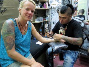 Tattoo Sibu Borneo by Birgit Strauch Shiatsu & Bewusstseinscoaching