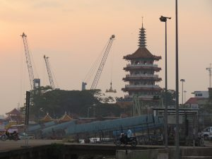 Hafen Sibu Borneo by Birgit Strauch Shiatsu & Bewusstseinscoaching