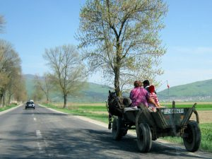Fahrt nach Zabala Pferdekutsche Rumänien by Birgit Strauch Bewusstseinscoaching & Shiatsu
