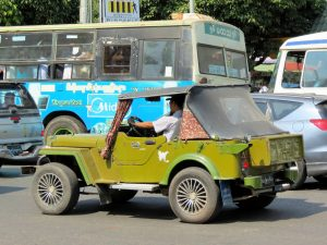 Jeep Yangon by Birgit Strauch Bewusstseinscoaching & Shiatsu