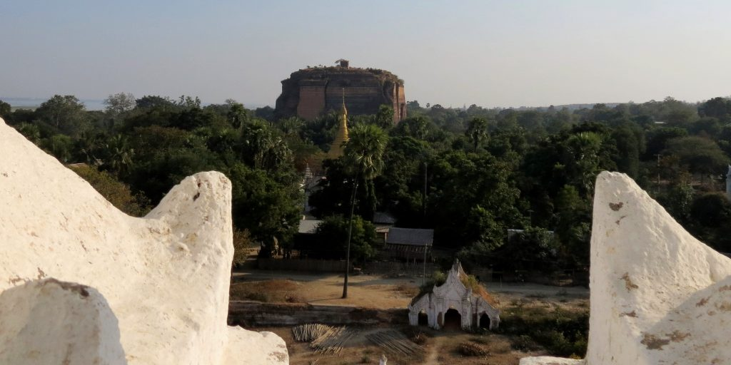 Mya Thein Tan Pagoda Mingun Irrawaddy Myanmar by Birgit Strauch Shiatsu & Bewusstseinscoaching