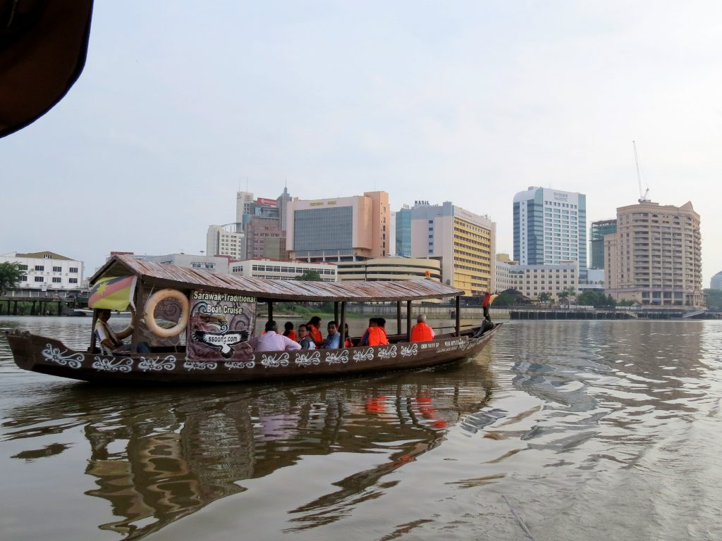 Bootstour Sarawak river Kuching Borneo by Birgit Strauch Shiatsu & Bewusstseinscoaching