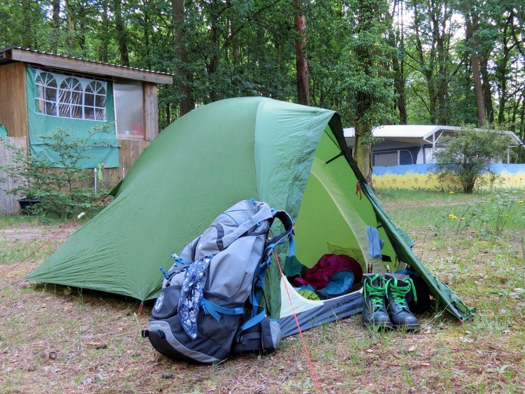 Campingplatz Müllrose Schlaubetal Wandern mit Hund Zelten by Birgit Strauch Bewusstseinscoaching & Shiatsu