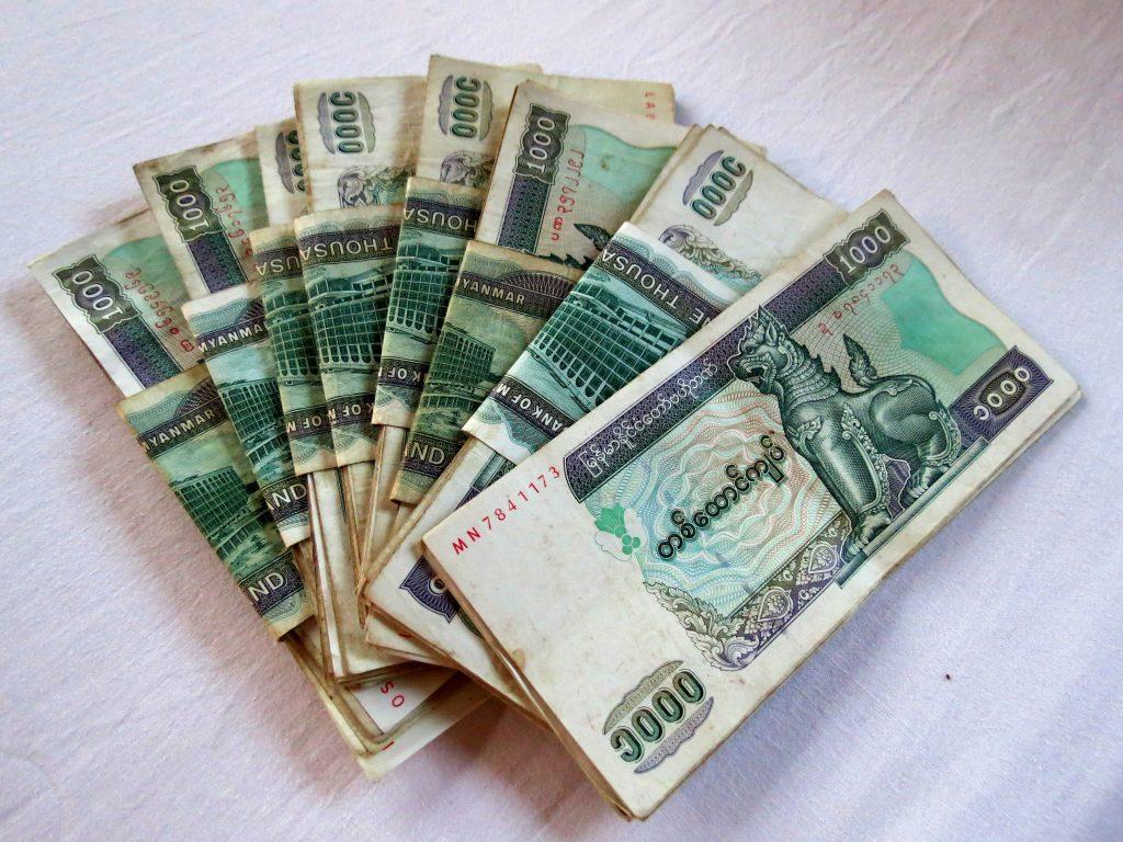 Yangon Geld by Birgit Strauch Shiatsu Thetaheilerin