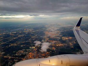 Flug über Houston by Birgit Strauch Bewusstseinscoaching und Shiatsu