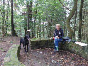 Leedener Berg Lusthäuschen Teutoschleifen Wanderung Canyon Blick by Birgit Strauch Bewusstseinscoaching & Shiatsu