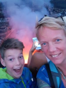 Glühende Lava im Vulkan Massaya by Birgit Strauch Shiatsu & Bewusstseinscoaching