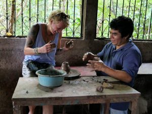 Töpferei in Pueblo Blanco Nicaragua by Birgit Strauch Bewusstseinscoaching & Shiatsu