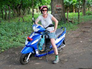 Scooter Moyogalpa Ometepe by Birgit Strauch Bewusstseinscoaching & Shiatsu
