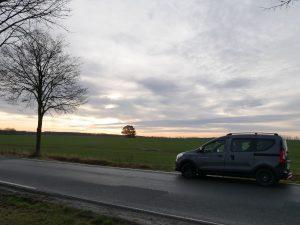 Minicamper Dacia Dokker Vipperow by Birgit Strauch Bewusstseinscoaching & Shiatsu