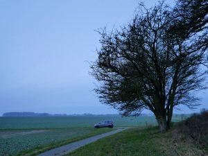 Minicamper einsamer Stellplatz bei Dranske by Birgit Strauch Bewusstseinscoaching & Shiatsu