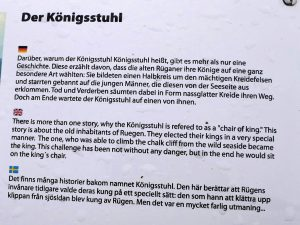 Rügen Königsstuhl mit dem Minicamper by Birgit Strauch Bewusstseinscoaching & Shiatsu