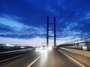 Rügenbrücke mit dem Minicamper by Birgit Strauch Bewusstseinscoaching & Shiatsu