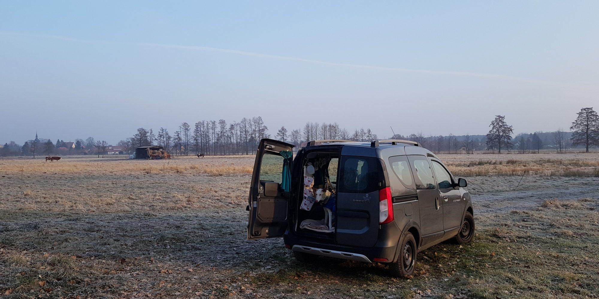 Spreewald bei Schlepzig, Stellplatz für Minicamper by Birgit Strauch Bewusstseinscoaching & Shiatsu