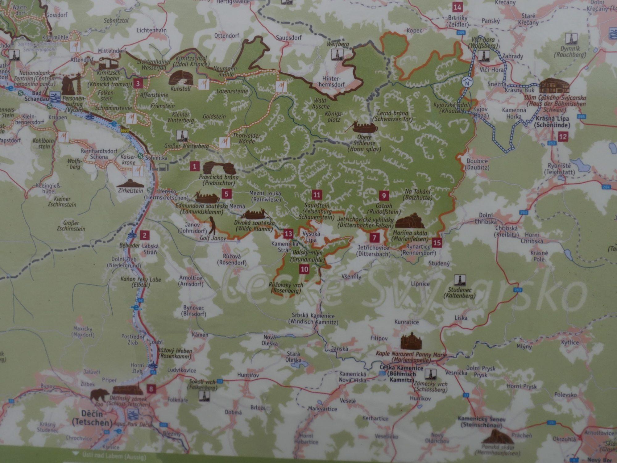 Unterwegs im Minicamper Böhmische Schweiz by Birgit Strauch Bewusstseinscoaching & Shiatsu