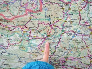 Unterwegs im Minicamper Dacia Dokker Böhmische Schweiz by Birgit Strauch Bewusstseinscoaching & Shiatsu