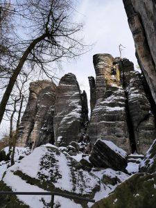 Nordböhmen, Tschechien, Tisa, Tyssauer Wände mit dem Minicamper by Birgit Strauch Bewusstseinscoaching & Shiatsu